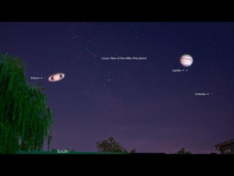 Jupiter & Saturn on the Canon 80D/Tamron 18-400mm Lens