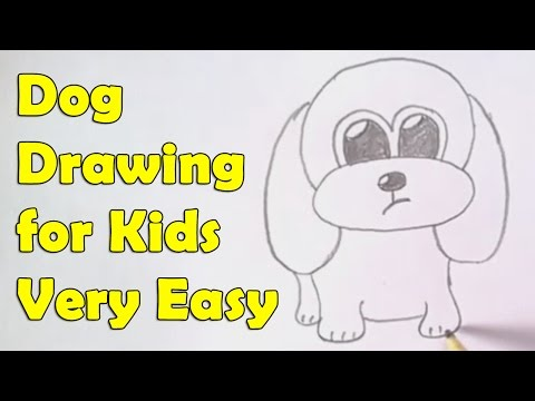 How To Draw A Dog For Kids Safeshare Tv