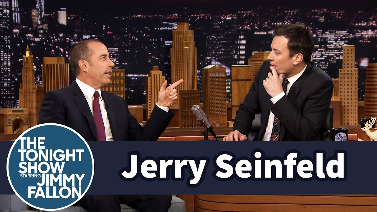 Jerry Seinfeld Gives Jimmy a World Record thumbnail