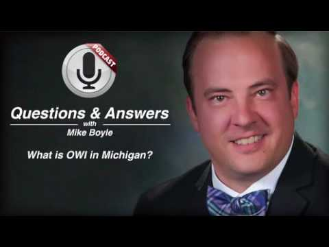 video thumbnail What is OWI in Michigan
