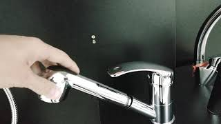 Змішувач для кухні, з витяжним виливом Invena Nea від компанії Vemar - все для дому - відео