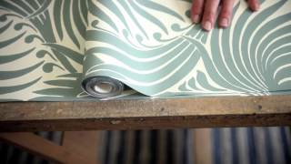 Farrow & Ball: How To Hang Wallpaper Created By TLS