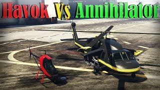 Gta 5 Online | Annihilator Vs Havok - Armor, Speed, And More - Which Is Better