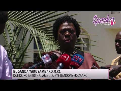 Katikkiro wa Buganda akyaliddeko eddwaliro lya Joint Research Clinic e Lubowa
