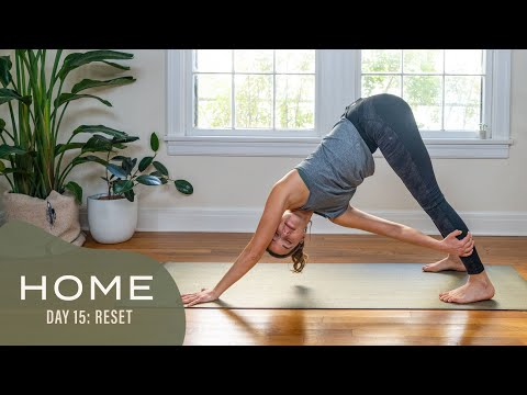 Home – Day 15 – Reset | 30 Days of Yoga With Adriene
