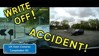 UK Dash Cameras - Compilation 20 - 2018 Bad Drivers, Crashes + Close Calls
