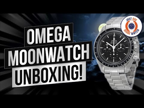 Omega Speedmaster Professional Moonwatch – Unbox & Review