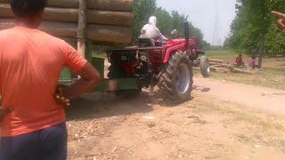 Heavyweight Tralla Pulling    Mahindra Arjun 555 DI Tractor