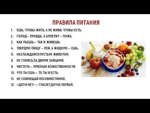 Йога и питание. Режим дня йогов