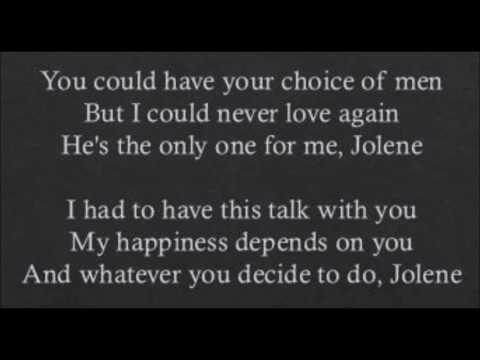 Jolene - Dolly Parton (Lyrics)