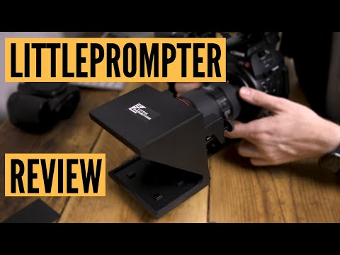 Little Prompter Phone Teleprompter Unboxing & Review