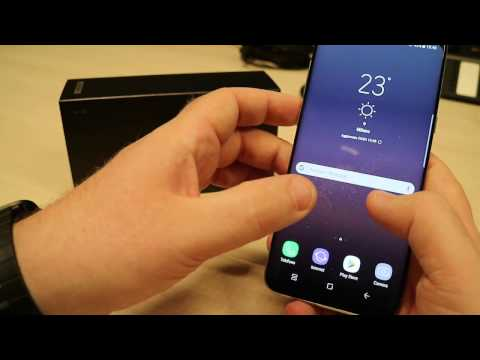 Samsung Galaxy S8+, Video Anteprima
