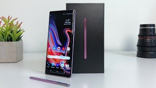 Samsung Galaxy Note9 Unboxing with Camera Test