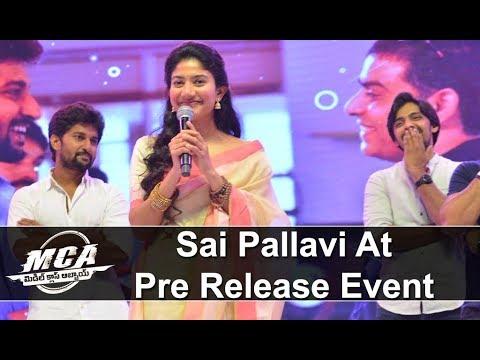 Sai Pallavi at MCA Pre Release Event