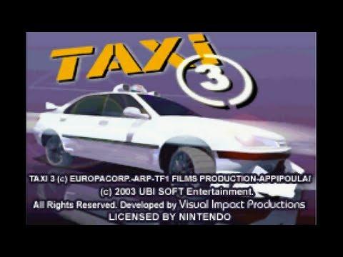 Taxi 3 Game Boy