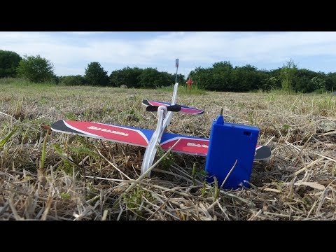 Smal electric super capacitor plane for kids