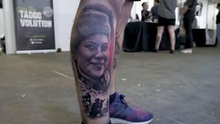 Julen Muñoz (Mrkpa Tattoo) - Tattoo Timelapse   Barcelona Tattoo Expo 2018
