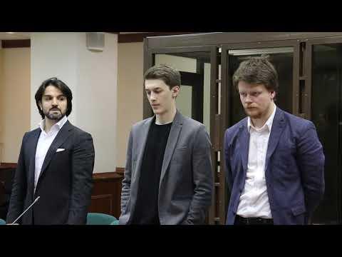 Рассмотрение апелляционных жалоб на приговор в отношении Егора Жукова 13.02.2020 г. (Мосгорсуд)