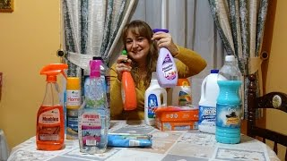 Mis Productos De Limpieza Favoritos De Mercadona (Bosque Verde) - Sonia Gutiérrez