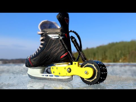 Motorized Ice Skates
