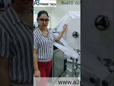 S-60 Automatic Single Phase Sanitary Napkin Machine