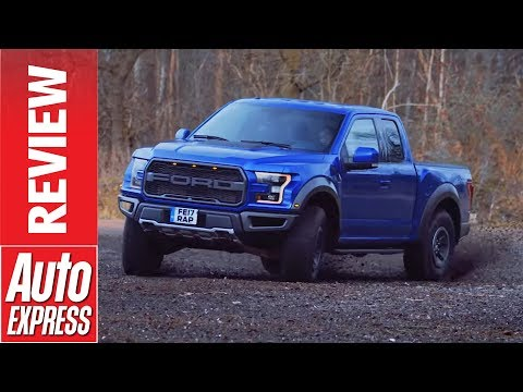 Ford F-150 Raptor Review - 444bhp Pick-up Truck Drifts And Races Audi's RS3