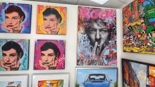 Ein Rundgang durch unsere Kunstgalerie