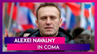 Alexei Navalny, Russian Opposition Leader In Coma After Suspected Poisoning  IMAGES, GIF, ANIMATED GIF, WALLPAPER, STICKER FOR WHATSAPP & FACEBOOK
