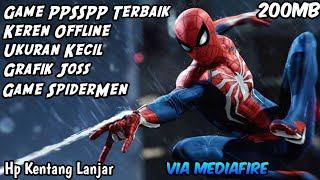Game PPSSPP Terbaik Offline | SpiderMan Web Of Shadow Ukuran Kecil HD [ Game PPSSPP Android ]