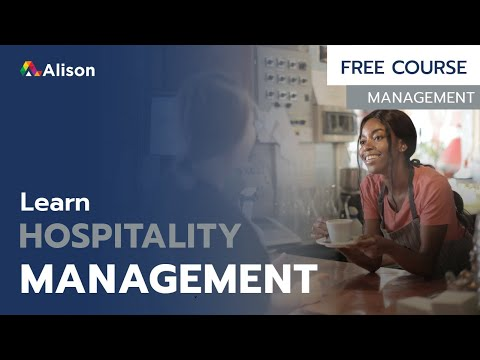 Diploma in Hospitality Management- Free Online Course with ...