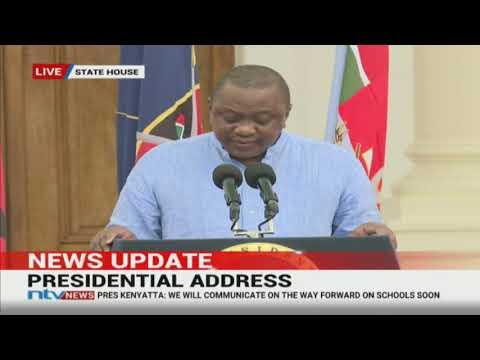 President Uhuru Kenyatta's address on COVID-19 and economic stimulus program