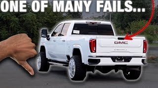 GM DROPPED THE BALL on A LOT of this trucks features!