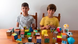 Nuestra colección de cubos (Presentación del canal)