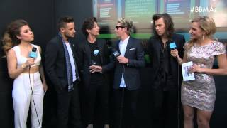 One Direction, One Direction Red Carpet Interview - BBMA 2015