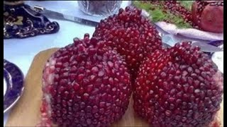 Pomegranate cutting method easy and practical 2018