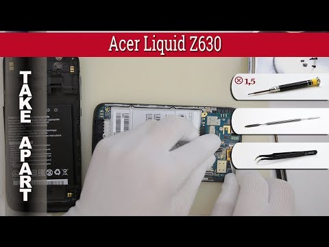 How to disassemble 📱 Acer Liquid Z630 Take apart Tutorial