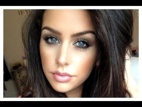 Neutral Makeup Look: Winged Liner