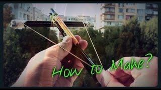 Как се прави Арбалет от моливи/ How to make crossbow (Office weapon)