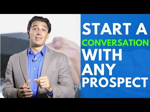 , title : 'The Single Best Way to Start a Conversation with Any Prospect