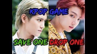 KPOP GAME | SAVE ONE, DROP ONE 2018 (Same Group Edition)