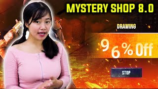 Mystery Shop 8.0 - 96% OFF? First Time Ever Highest Discount - Garena Free Fire