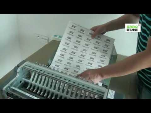 Label/Sticker Half Cutting Machine