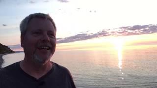 Sunset at Lake Superior Simon Books