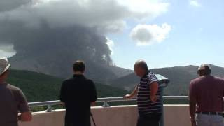 preview picture of video 'Montserrat volcano observatory'