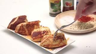 สอนทำขนม ไส้กรอกโทสต์ชีส ทำกินเองง่ายๆที่บ้าน