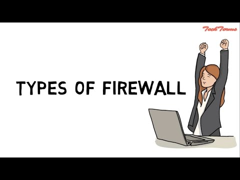 What is firewall? | Types of firewall  | network firewall security | TechTerms