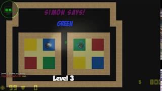 Lime vs Bonnie // CS2D - Simon says