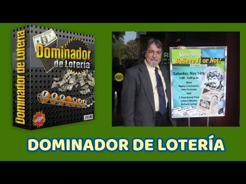 DOMINADOR DE LOTERIA PDF. PROGRAMA DOMINADOR DE LOTERIA LIBRO RICHARD LUSTIG