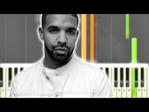 Learn How To Play Marvins Room By Drake Synthesia Piano Tutorial By
