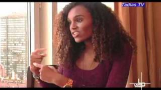 Interview With Ethiopian Model   Social Activist Gelila Bekele Video By Tadias Megazine